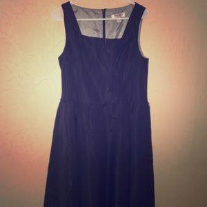 Beautiful navy blue party dress.